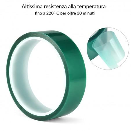 Nastro adesivi in Poliestere Siliconico per mascherature ad
