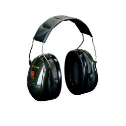 3M™ PELTOR™ Optime™ II Cuffie Auricolari, 31 dB, verde, temporale, H520A-407-GQ