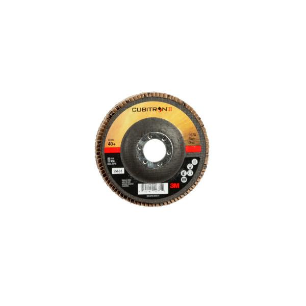 3M™ Cubitron™ II  967A  Dischi Lamellari   115 mm   60+ PN 65067