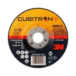 3M™ Cubitron™ II Disco da sbavo T27 125mm PN94002