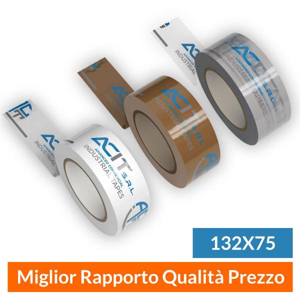 Nastro Adesivo Personalizzato Polipropilene Standard Mis. 132x75