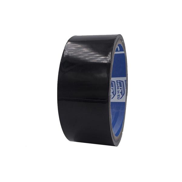 Nastro alluminio con liner colorato lucido - nero/bianco/marrone - 38 mm x 9 mt