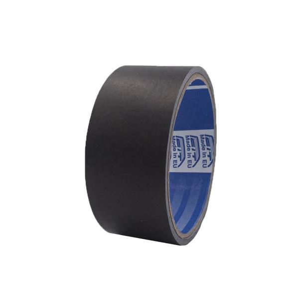 Nastro alluminio con liner colorato opaco - nero opaco - 38 mm x 9 mt