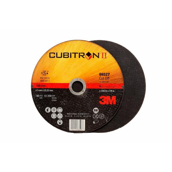 3M™ Cubitron™ II Disco da taglio T41 115 mm 1 mm 22 mm PN 65513