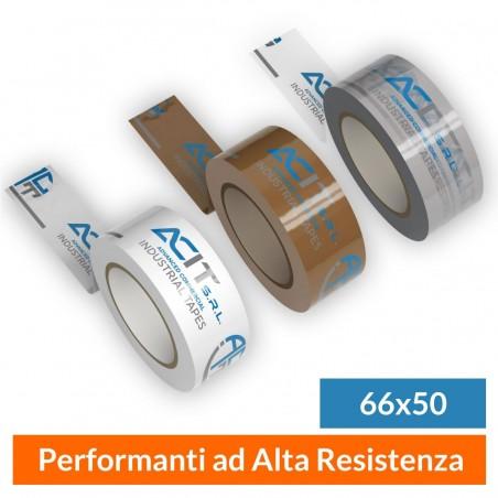 Nastro Adesivo Personalizzato Polipropilene Performante Mis. 66x50