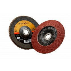3M™ Cubitron™ II Disco lamellare 969F, 115 mm, 40+, Piatto