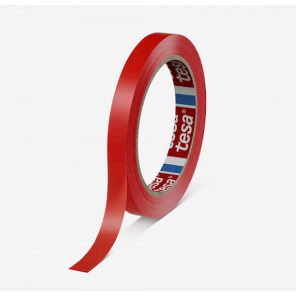 TESA 4204 Nastro in PVC Rosso 66x25