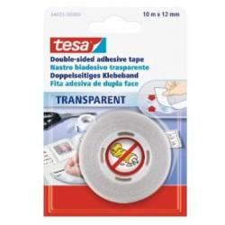 TESA 64621 Nastro biadesivo Trasparente 10x12 Blister