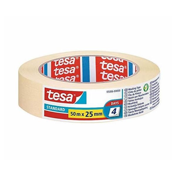 TESA 5086 Nastro in Carta per Mascheratura Standard 50x25