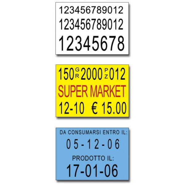 Etichette 30x21-Bianche-Rettangolare-Adesivo Permanente