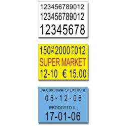 Etichette 30x21 -Bianche-Rettangolare-Adesivo Removibile
