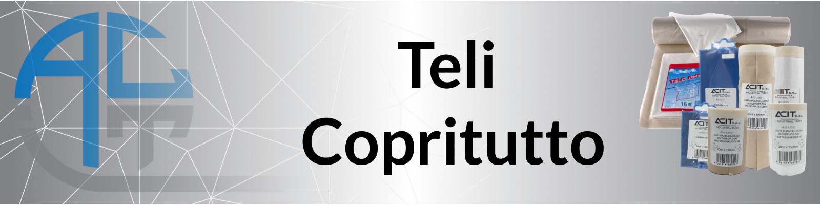 Teli Copritutto - Carte Mask Accoppiate a Teli Protettivi - Nastro