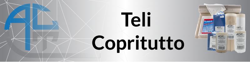 Teli Copritutto - Carte Mask Accoppiate a Teli Protettivi - Nastro Copricrepe