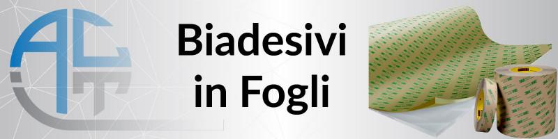 Biadesivi in Fogli