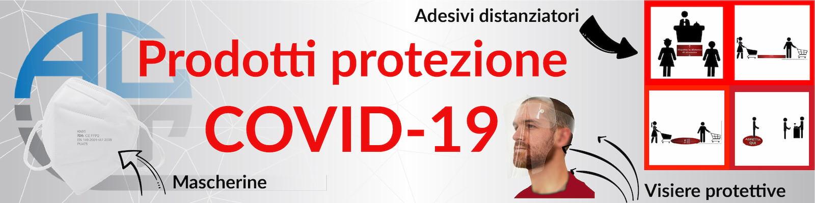 Prodotti idonei per la protezione dal virus COVID-19